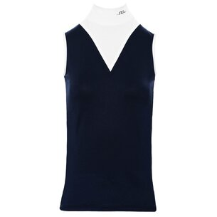 AA Platinum Mina Tech Top Ladies - Navy