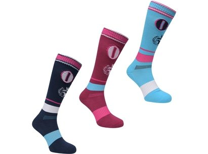 Requisite 3 Pack Socks Ladies