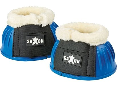 Saxon Fleece Trim Rubber Bell Boots