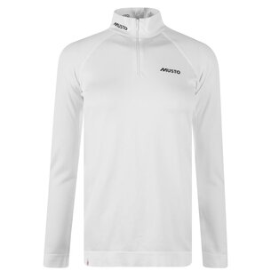 Musto Performance Long Sleeve Zip Top Ladies