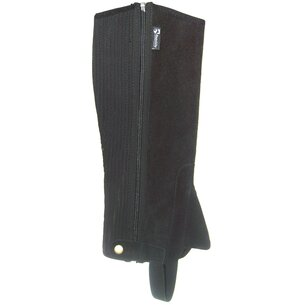 Requisite Childrens Suede Half Chaps - Black