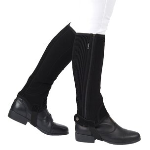 Dublin Easy Care Childs Half Chaps II - Black