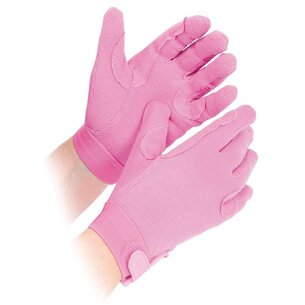 Shires Junior Newbury Gloves - Pink