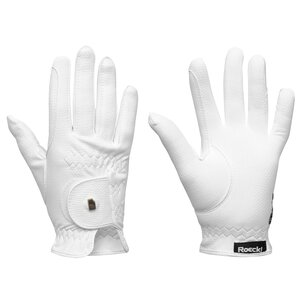 Roeckl Grip Junior Gloves - White