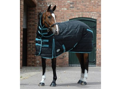 Weatherbeeta ComFiTec PP Channel Quilt Detach a Neck Medium 250g Stable Rug
