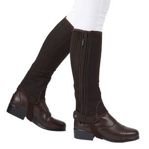 Dublin Easy Care Half Chaps II - Brown
