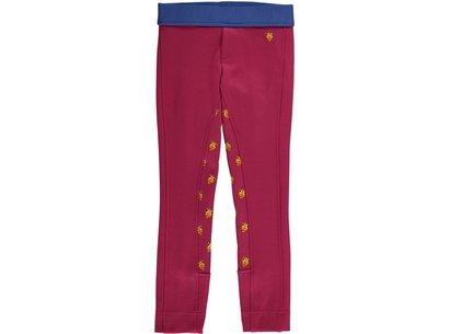 Shires Tikaboo Girls Jodhpurs - Pink Giraffe