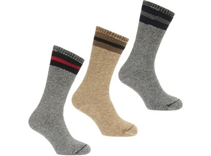 Muck Boot Wool 3 Pack Adults Socks