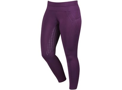 Dublin Performance Cool-It Gel Ladies Riding Tights - Plum