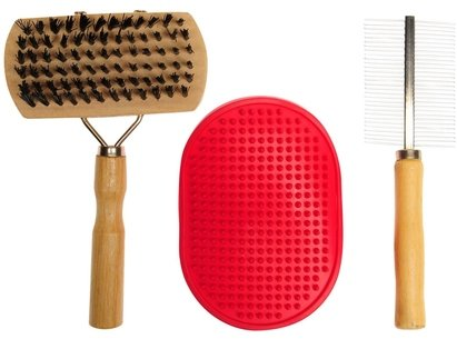 Pet Brands 3pc Pet Brush Set 91