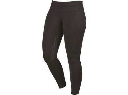 Dublin Performance Thermal Active Ladies Riding Tights - Black