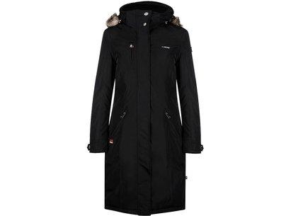 Eurostar Ladonna Ladies Long Jacket - Black