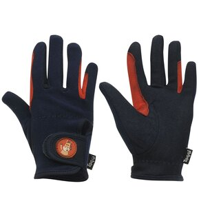 Toggi Childrens Riding Gloves - Navy