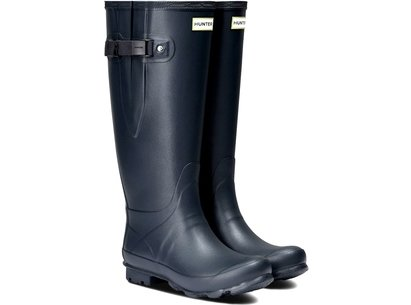 Hunter Norris Field Wide Fit Ladies Wellingtons