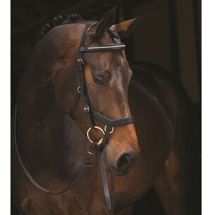 Rambo Micklem Diamante Comp Bridle