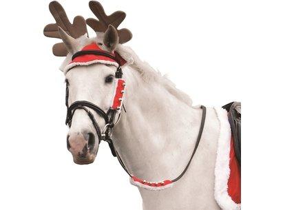 Battles Christmas Horse Antlers
