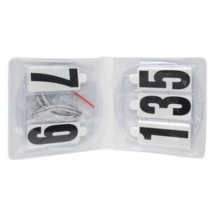 Roma Competition Oval Number Holder