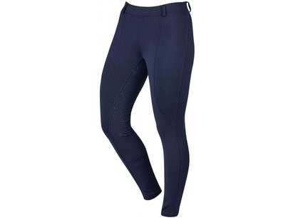 Dublin Performance Cool-It Gel Ladies Riding Tights - Navy