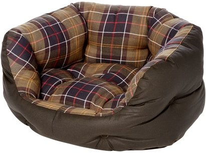 Barbour Lifestyle Wax 30in Dog Bed