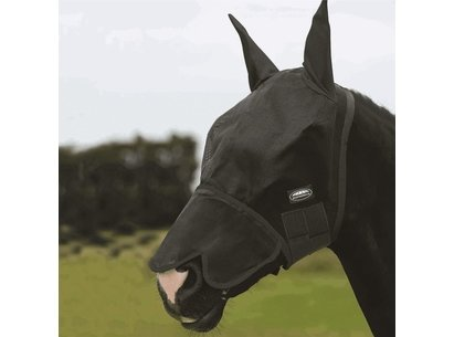 Roma Buzz Away Fly Mask with Nose