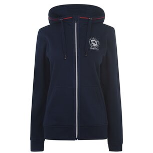 Requisite Zip Ladies Hoodie - Navy