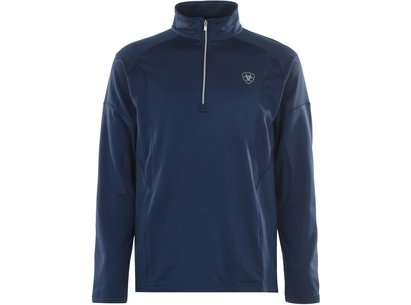 Ariat Tolt 1/2 Zip Mens Sweatshirt - Deep Petroleum