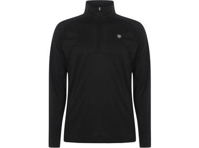 Ariat Sunstopper  quarter  Zip Baselayer Mens