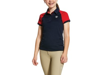 Ariat Team 3.0 Junior Polo - Navy