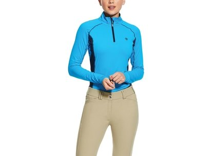 Ariat Tri Factor Quarter Zip Base Layer
