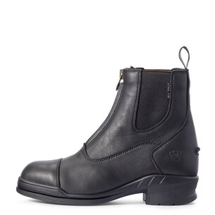Ariat Heritage IV Steel Toe Zip Ladies Paddock Boot - Black