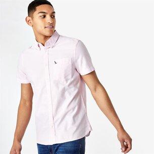 Jack Wills Stableton Short Sleeve Oxford Shirt