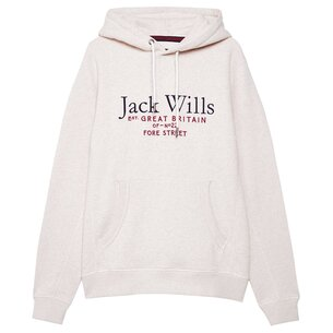 Jack Wills Batsford Graphic Logo Hoodie