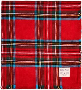 Jack Wills Aber Heritage Checked Scarf