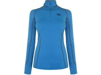 Woof Wear Ladies Performance Shirt - Turquoise