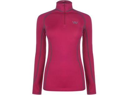 Woof Wear Ladies Performance Shirt - Berry