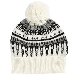 Jack Wills Bromley Fairisle Pom Pom Hat