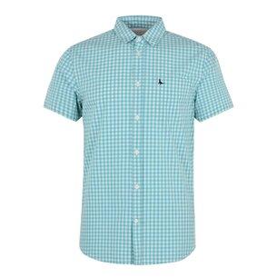 Jack Wills Amphil Gingham Short Sleeve Shirt