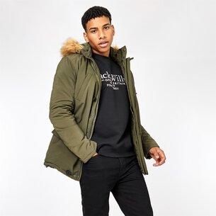 Jack Wills Newton Hooded Parka Jacket