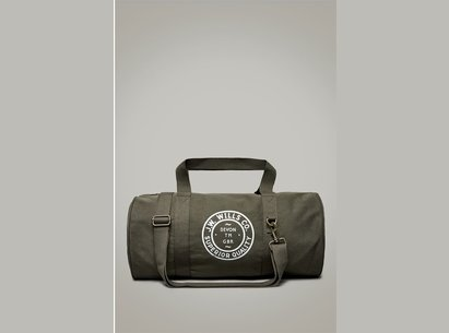 Jack Wills Leyland Canvas Gym Bag