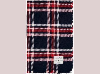 Jack Wills Hemingford Checked Scarf