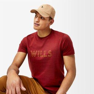 Jack Wills Manorhill Short Sleeve Graphic T Shirt
