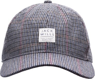 Jack Wills Hythe Checked Cap