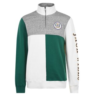 Jack Wills Barberton Half Zip Sweatshirt