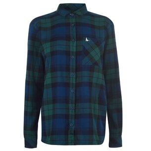 Jack Wills Blissford Boyfriend Check Shirt