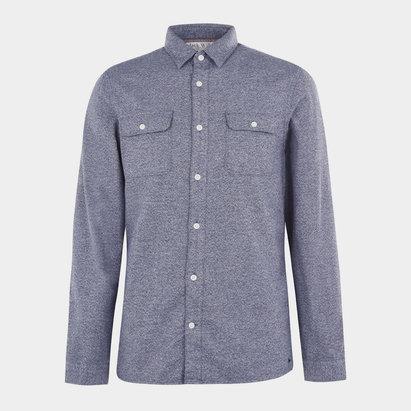 Jack Wills Barberry Jaspe Double Pocket Shirt
