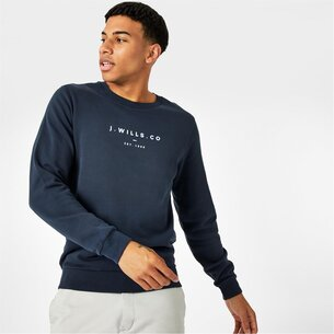 Jack Wills Cruxton Graphic Logo Sweatshirt