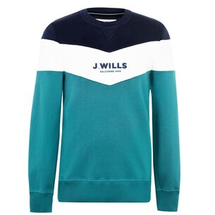 Jack Wills Beaufort Cut And Sew Sweatshirt