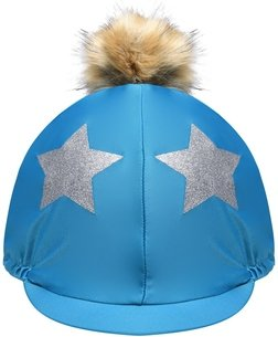 Shires Glitter Star Hat Cover Womens