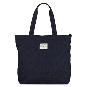 Jack Wills Kingsheaton Quilted Shopper Bag