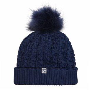 Requisite Pom Pom Hat Ladies